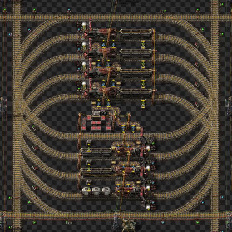 Rail yard module