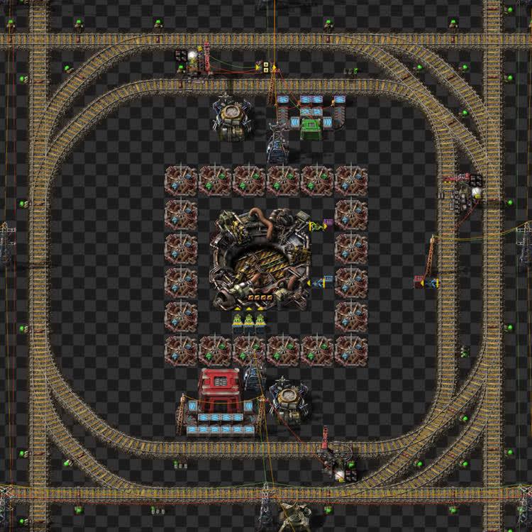 Rocket silo module