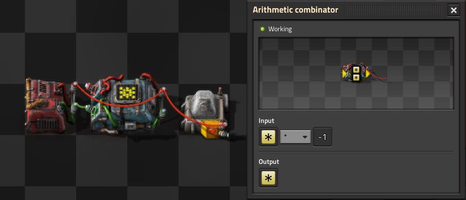 Pulser circuit using Arithmetic combinator